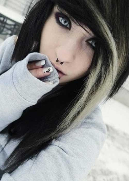 30 Blonde Emo Hairstyles Hairstyles Ideas Walk The Falls