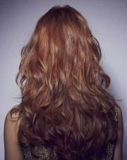 long layered hair view