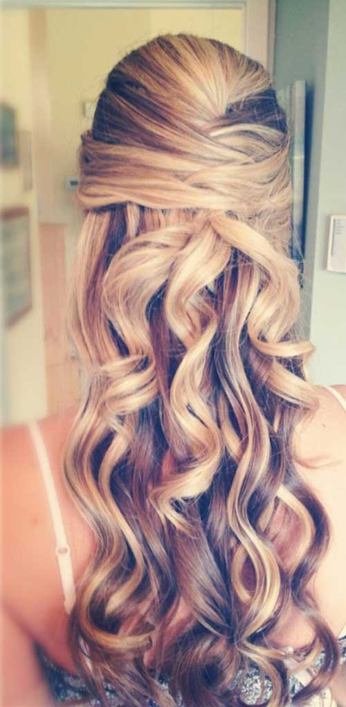 20 Down Hairstyles For Prom Hairstyles & Haircuts 2016 2017