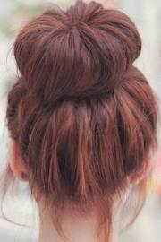 messy buns hairstyles