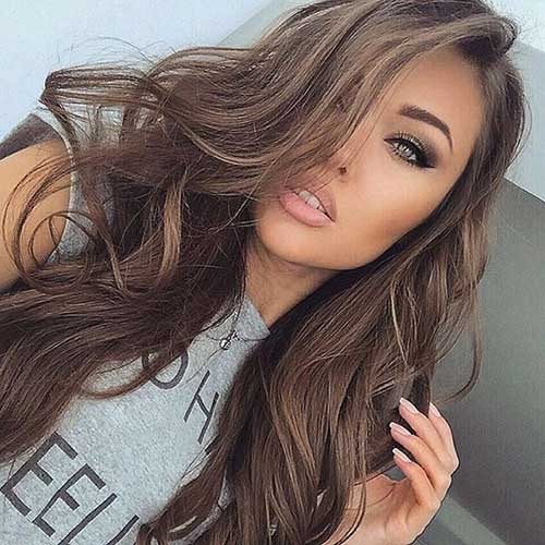 Most Popular Hair Colors for Long Hair  Hairstyles  Haircuts 2016  2017