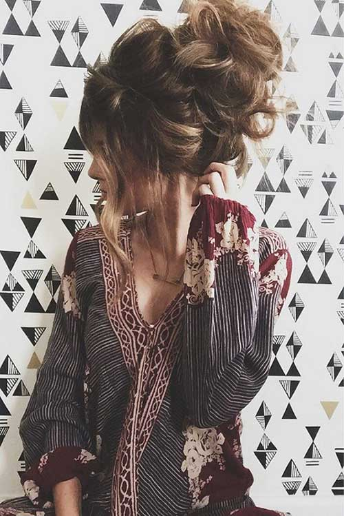 Pretty Big Bun Hairstyles for Ladies  Hairstyles and