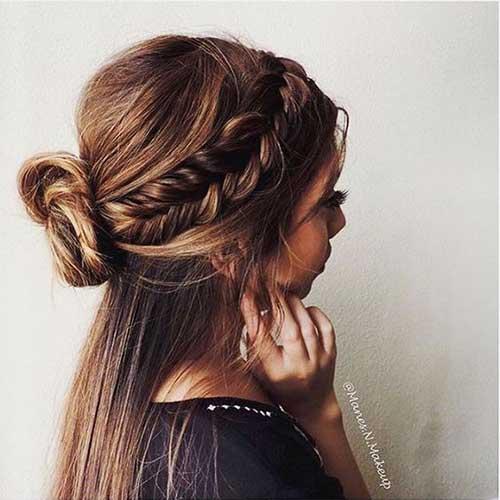Really Stylish Amp Trending Half Bun Hairstyles Hairstyles