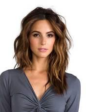 trending mid length layered hair