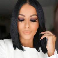 15+ Black Color Hairstyles   Hairstyles & Haircuts 2016 - 2017