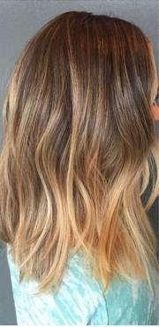 brown and blonde hair ideas