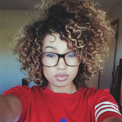 Hairstyles for curly afro hair hairsstyles good curly afro hair with highlights pmusecretfo Choice Image