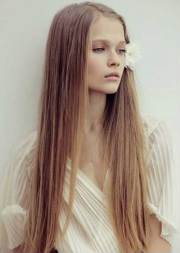 hair styles long thin