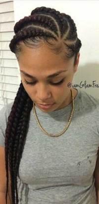 Weave Braids Short Hairstyles For Black Women | Short ...
