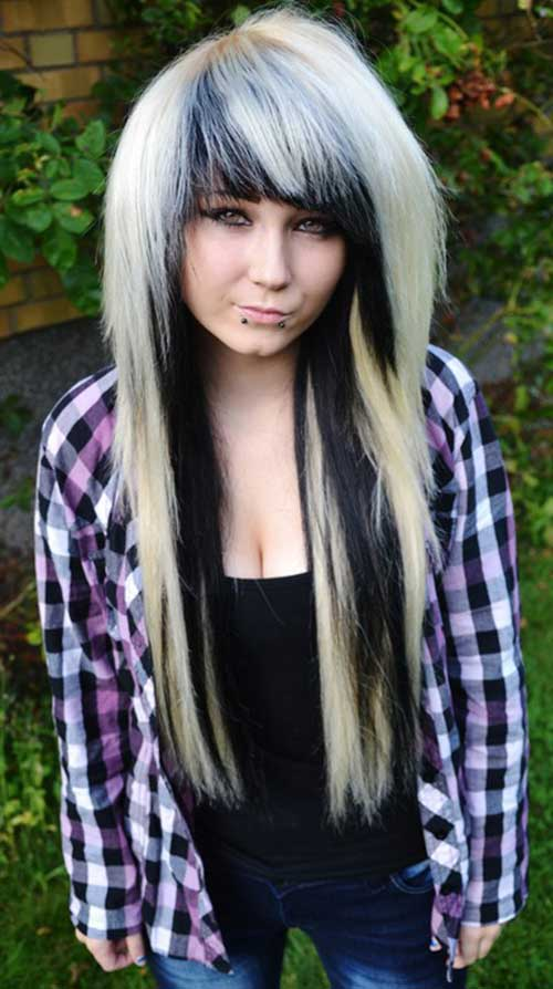 Beautiful Boy Girl Wallpaper 20 Emo Long Hair Hairstyles And Haircuts Lovely
