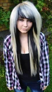 emo long hair hairstyles