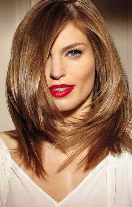 Haircuts For Long Hair Round Face 2017 The Best Haircut Of 2018