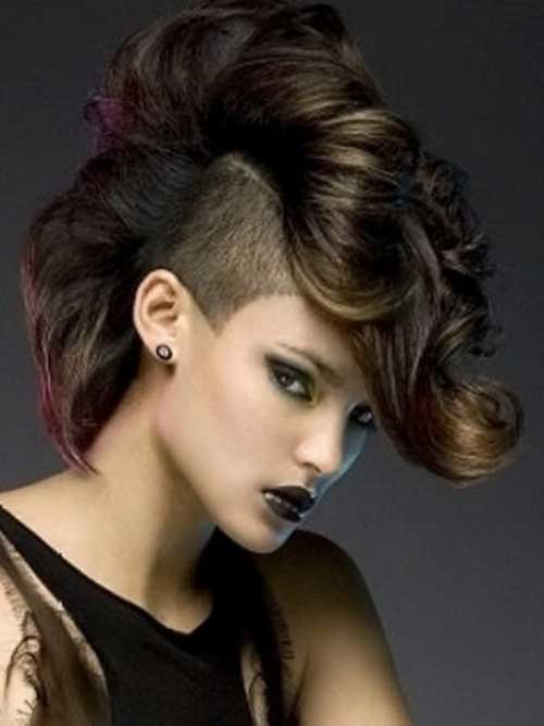 25 Punk Hairstyles For Curly Hair Hairstyles And