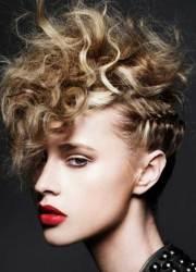 punk hairstyles curly hair
