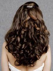 party hairstyles curly