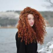 long red curly hair hairstyles