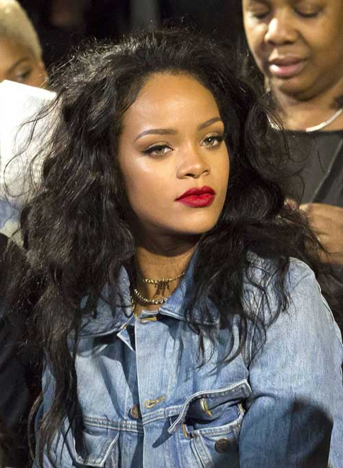 15 Rihanna Long Curly Hair  Hairstyles and Haircuts  LovelyHairstylesCOM