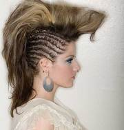 punk rock hairstyles long