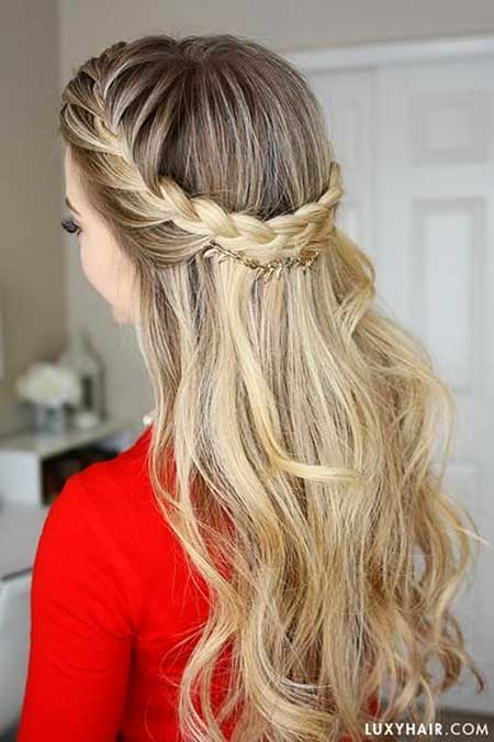 30 Gorgeous Braided Half Up Half Down Hairstyles  Hairstyles  Haircuts 2016  2017