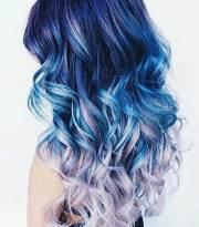 purple mermaid hair colors
