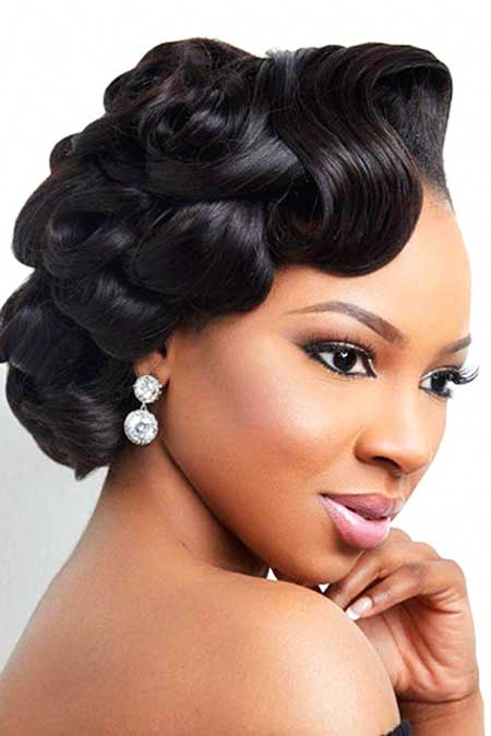 17 Super Updo Wedding Hairstyles for Black Women  Hairstyles and Haircuts  LovelyHairstylesCOM
