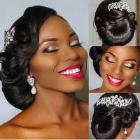 17 Super Updo Wedding Hairstyles for Black Women