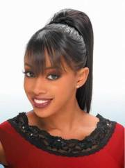 inspiring ponytail styles african