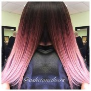pink ombre hair ideas hairstyles