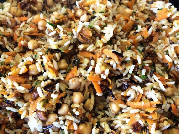 Orientalischer Ras el-Hanout Reis