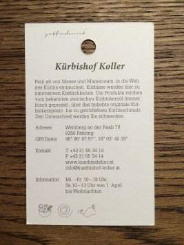 Adresse Kürbiskernöl