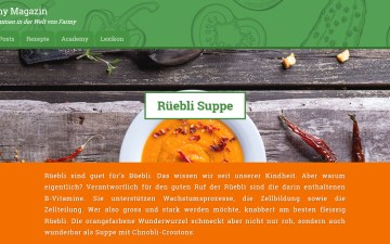 Rüebli Suppe