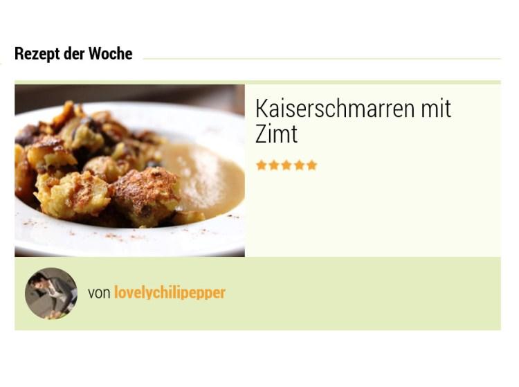Besucherrezept der Woche auf kochbar.de