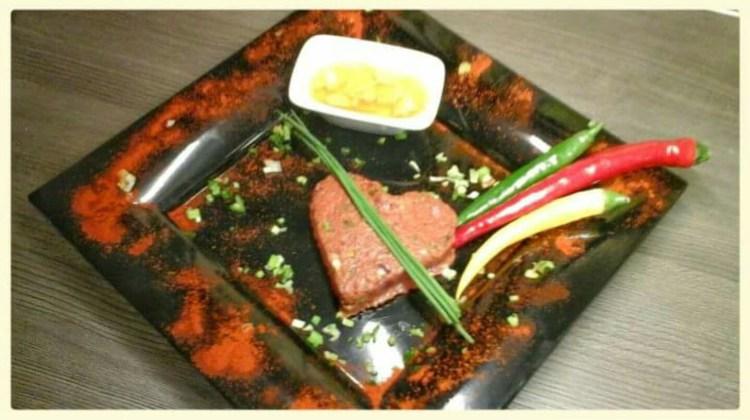 Beef Tartare Asia Style