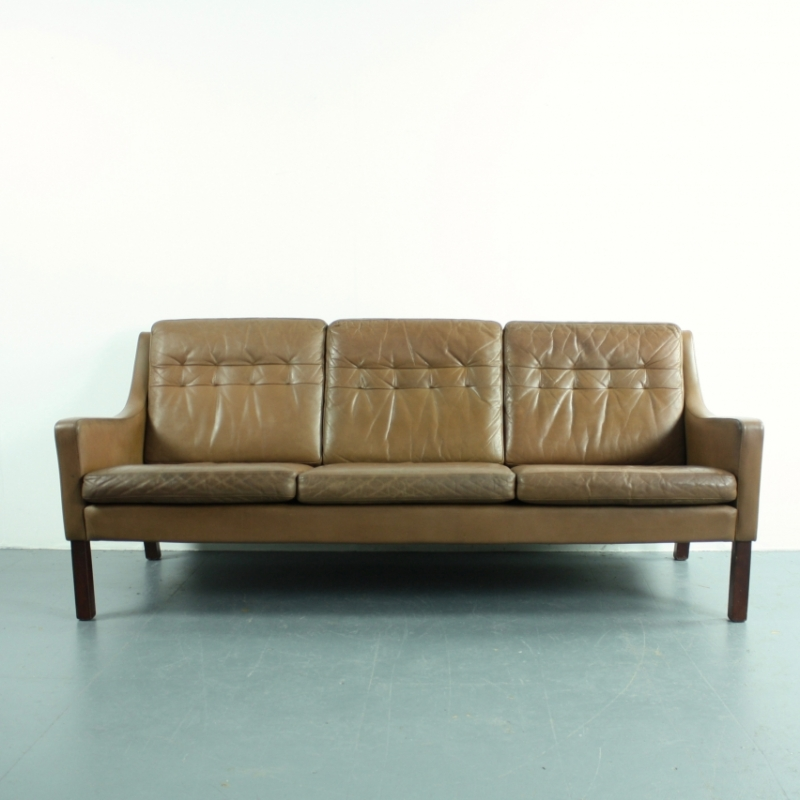 vintage leather sofa company cheap sectional sofas under 500 thams 3 seater brown lovely and