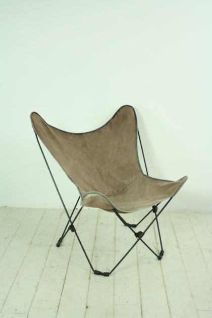 60s canvas butterfly chair  Lovely and Company