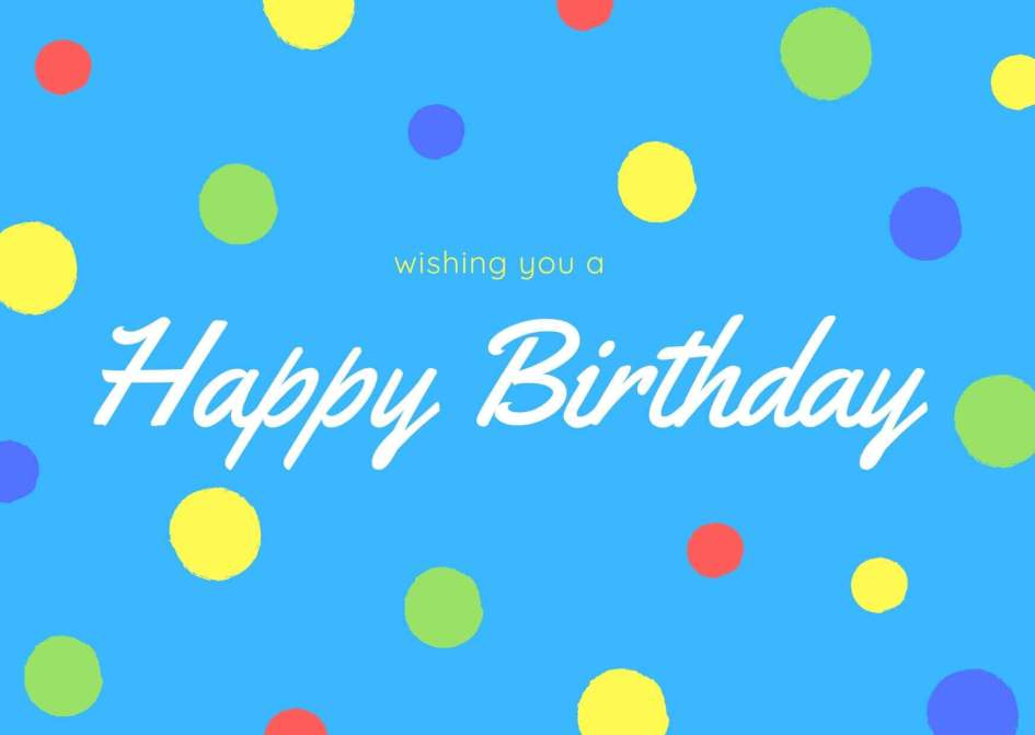 Birthday Wishes For Kids Free Images