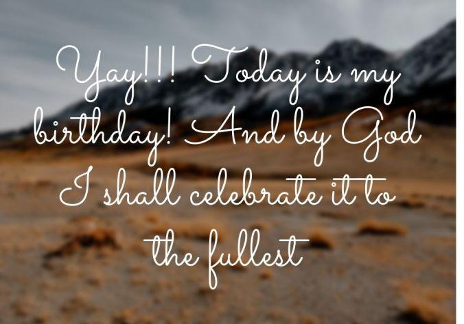 Happy Birthday Status HD Image