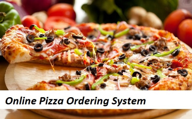 Online Pizza Ordering System in PHP, Java, Android
