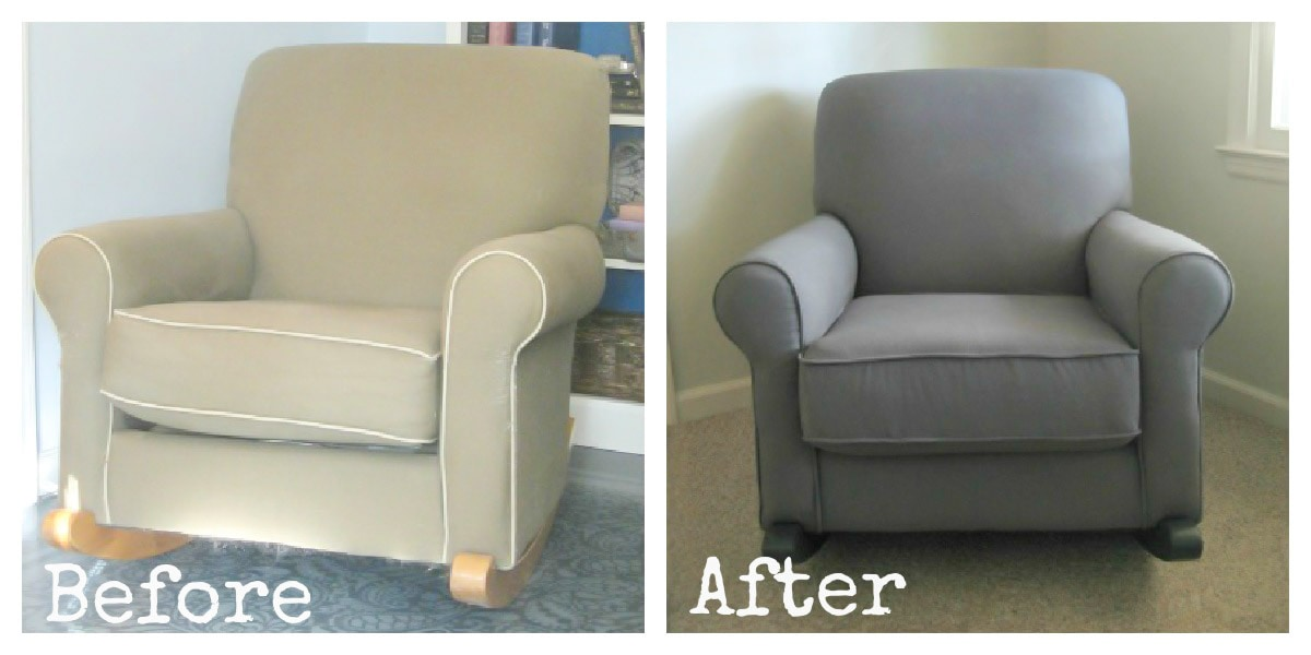 reupholstering a chair resin adirondack how to reupholster an armchair lovely etc rocker before and after