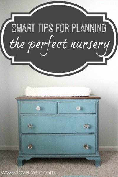 10 Smart Tips for Planning the Perfect Nursery - Lovely Etc.