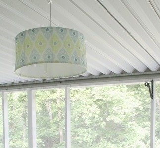 how to make a super cheap hanging light