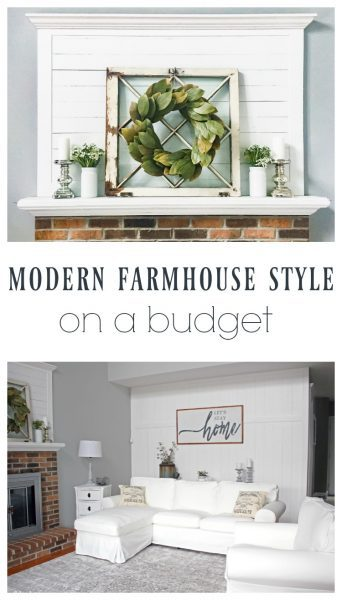 From 1980s to Beautiful Farmhouse on a Budget - Lovely Etc.