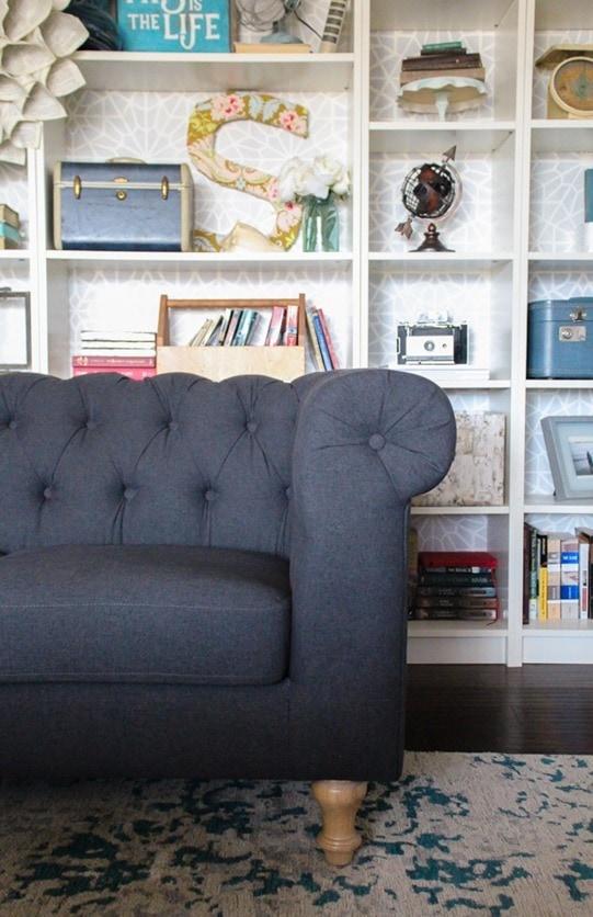 Gray Tufted Chesterfield Sofa Nice Houzz
