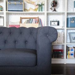 Next Quentin Sofa Bed Review Cushion Repair Cost The Perfect Inexpensive Gray Tufted Lovely Etc This Is Gorgeous And Exactly What I Was Looking For In A