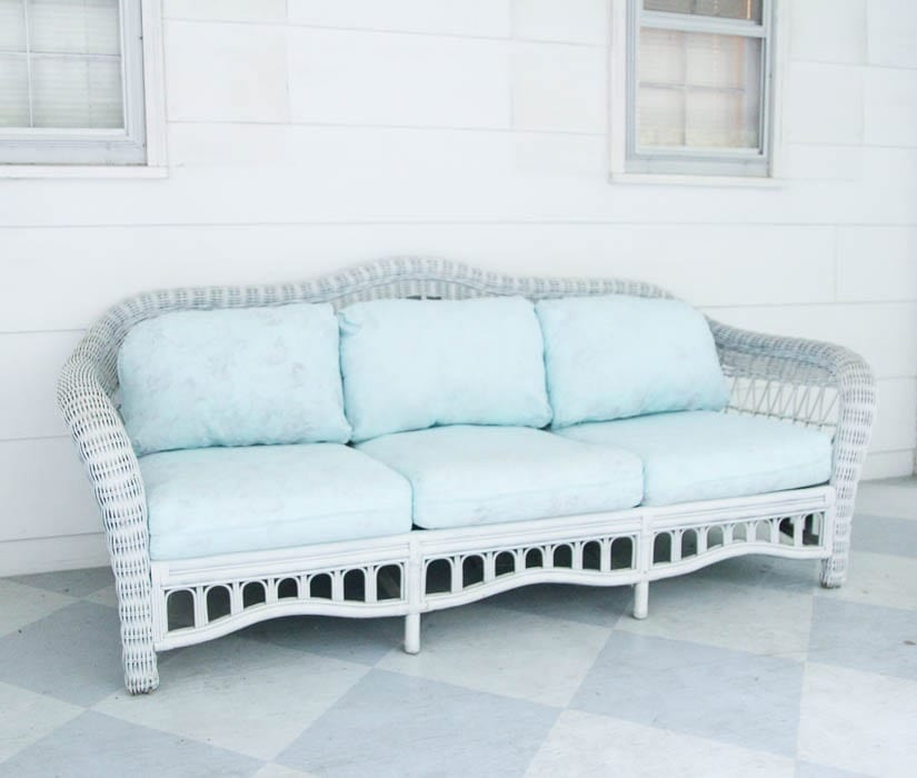 Painted Outdoor Furniture Cushions