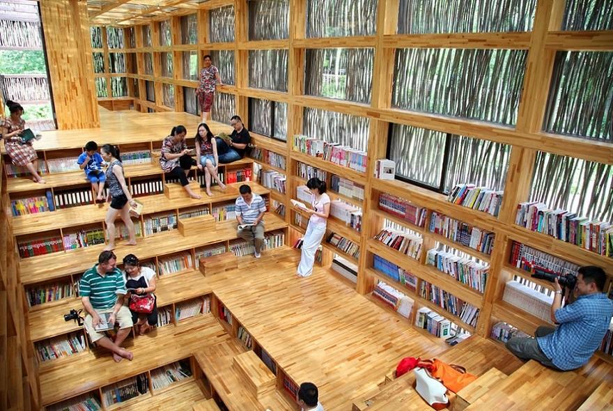 Liyuan Library - Interior