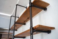Lovely Imperfection - DIY Pipe Shelf | Lovely Imperfection