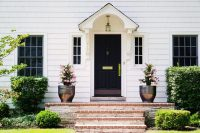 Lovely Imperfection - 5 Easy Front Entrance Ideas   Lovely ...