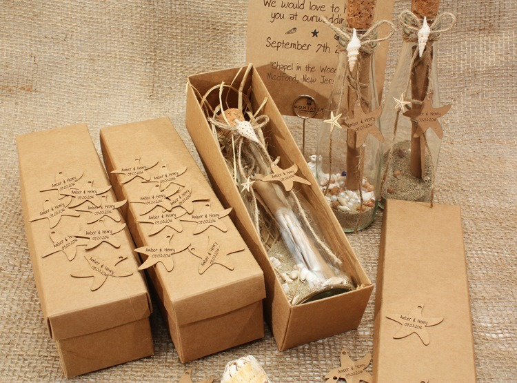 5003 Message In A Bottle Wedding Invitations