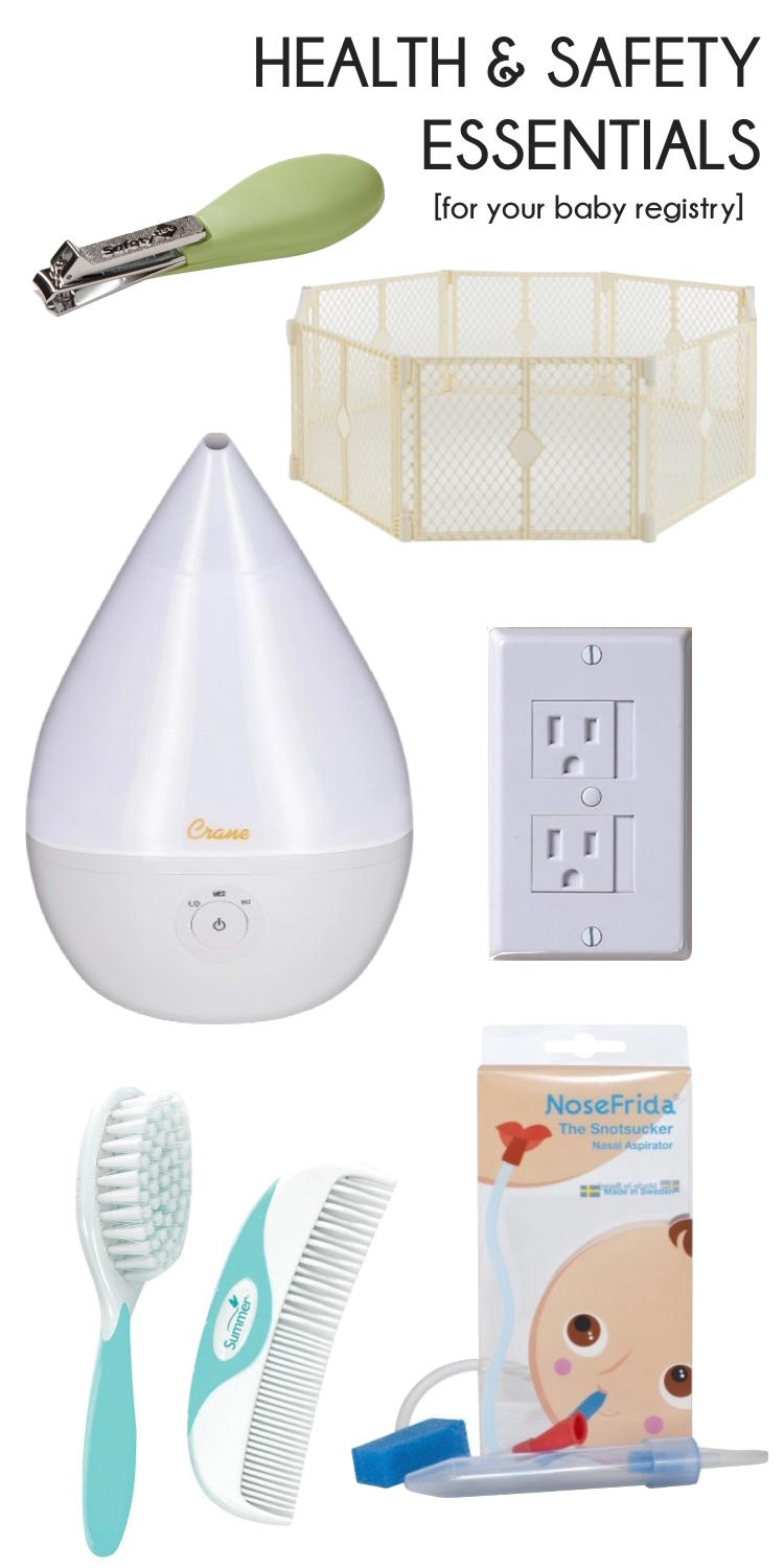 Baby Registry Essentials - Health & Safety Stuff You Need To Have For A New  Baby